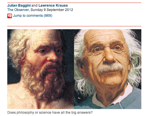 philosophy vs science